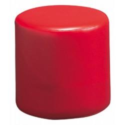 Pouf cylindrique diamètre 40 cm assise H40 cm