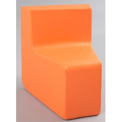 Angle 30° des grands assise H40 cm