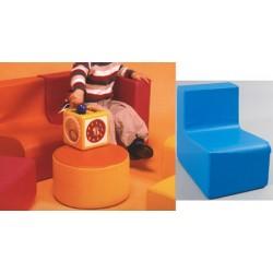 Chauffeuse des tout petits assise H17 cm