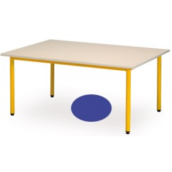 Table maternelle Manon ovale 120x90 cm T1 a T3