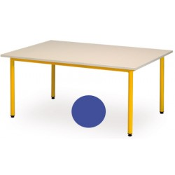 Table maternelle Manon ronde 120 cm T1 a T3