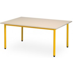 Table maternelle Manon 120x60 cm T1 a T3