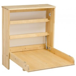 Table à langer murale Premium bois