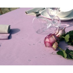 Lot de 20 serviettes de table 55x55 cm toile pastel 230g gamme lin