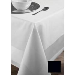Lot de 20 serviettes de table 55x55 cm toile foncé  coton 235g gamme satin