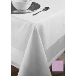 Lot de 20 serviettes de table 55x55 cm toile pastel coton 235g gamme satin