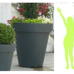Pot décoratif géant simple peau ø 160,5xH161,5 cm 1500 L