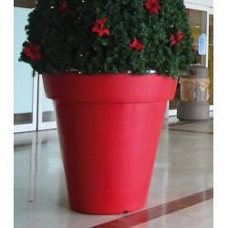 Pot décoratif rond double peau ø 120xH120 cm 110L