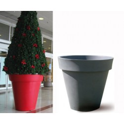 Pot décoratif rond simple peau ø 120xH120 cm 650L