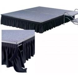 Jupe pour podium festival H59 cm tissu 100% polyester