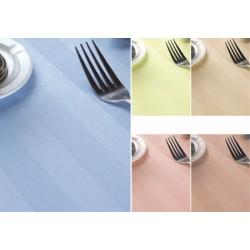 Nappe satin polycoton couleur 144x144 cm