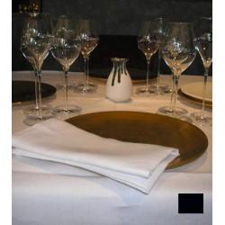 Lot de 10 nappes carrées 115x115 cm toile foncé  230g gamme lin