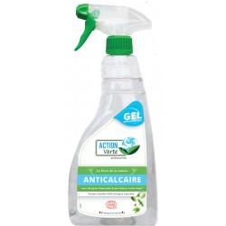 Lot de 6 flacons nettoyant anticalcaire Ecolabel Action Verte 750 ml