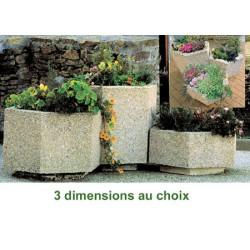 Jardinière béton Mandarine 77x89xH40 cm
