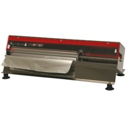 Dérouleur inox sur pied pour film ou alu de 30 à 50 cm