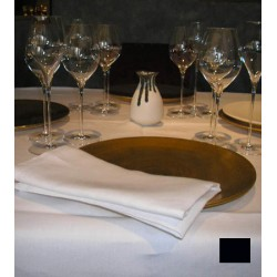 Lot de 10 chemins de table 55x140 cm toile foncé  230g gamme lin