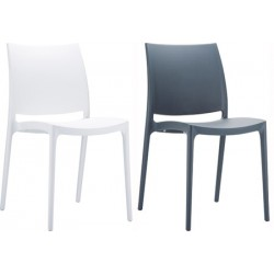 Lot de 24 chaises empilables Trinité coloris std