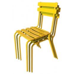 Chaise empilable métal extérieure Blandine