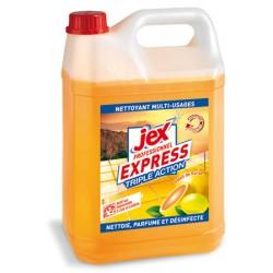 Lot de 4 bidons 5L desinfectant triple action Soleil de Corse Jex Pro Express