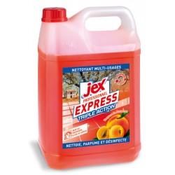 Lot de 4 bidons 5L desinfectant triple action Vergers de Provence Jex Pro Express