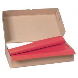 Carton de 500 nappes papier 70 x 70 cm bordeaux