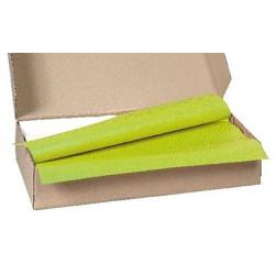 Carton de 500 nappes papier 70 x 70 cm vert kiwi