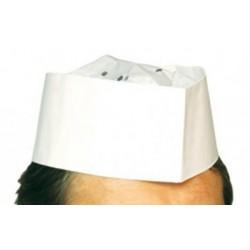 Boite de 100 calots papier blanc