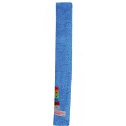 Lot de 2 housses micro-flex 7 x 54 cm bleu