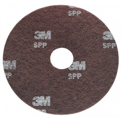 Disque 3M 432 spp décapage sols thermoplastiques marron