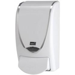 Distributeur de savon mousse proline chrome blanc 1L