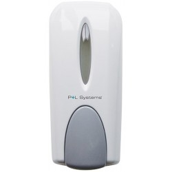 Distributeur de savon manuel blanc 1000 ml