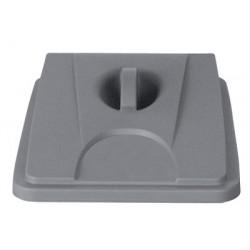 Couvercle gris pour collecteur tri selectif 60 L et 80 L