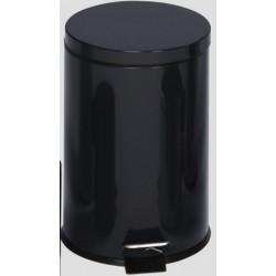 Poubelle à pédale 30L coloris noir