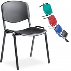 Chaise coque empilable Anne polypropylène M4
