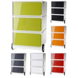 Caisson mobile easyBox 3 tiroirs de rangements