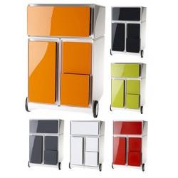 Caisson mobile easyBox 1 tiroir de rangements 1 DS et 2 CD