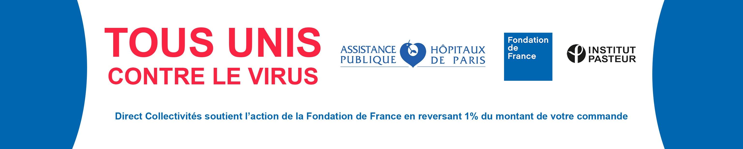 Direct Collectivités soutient les actions de la Fondation de France en reversant 1% de vos commandes